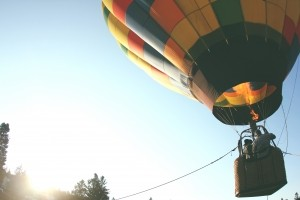 low-angle-view-of-hot-air-balloon