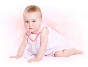 19167098 - baby  cute baby girl portrait